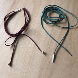 Tie Up Necklaces